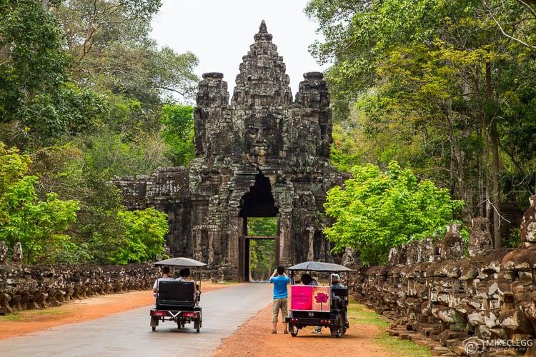 Tuk Tuks em Siem Reap