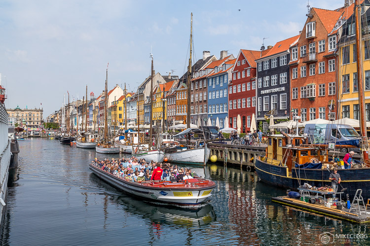 Passeios de barco em Copenhague