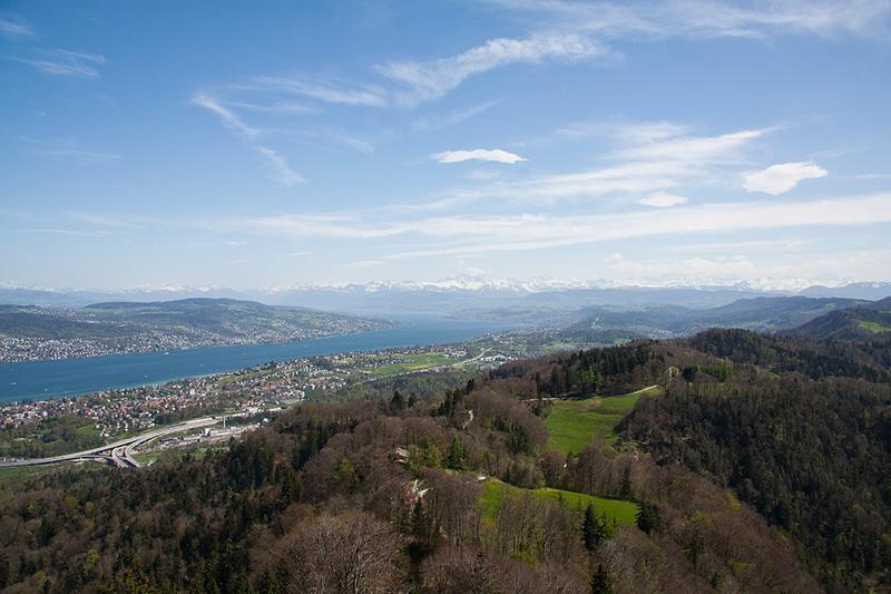 Visualizações de Uetliberg, Zurique - CC0 (Pixabay)