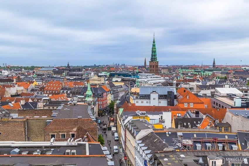 Vistas da Torre Redonda, Copenhague