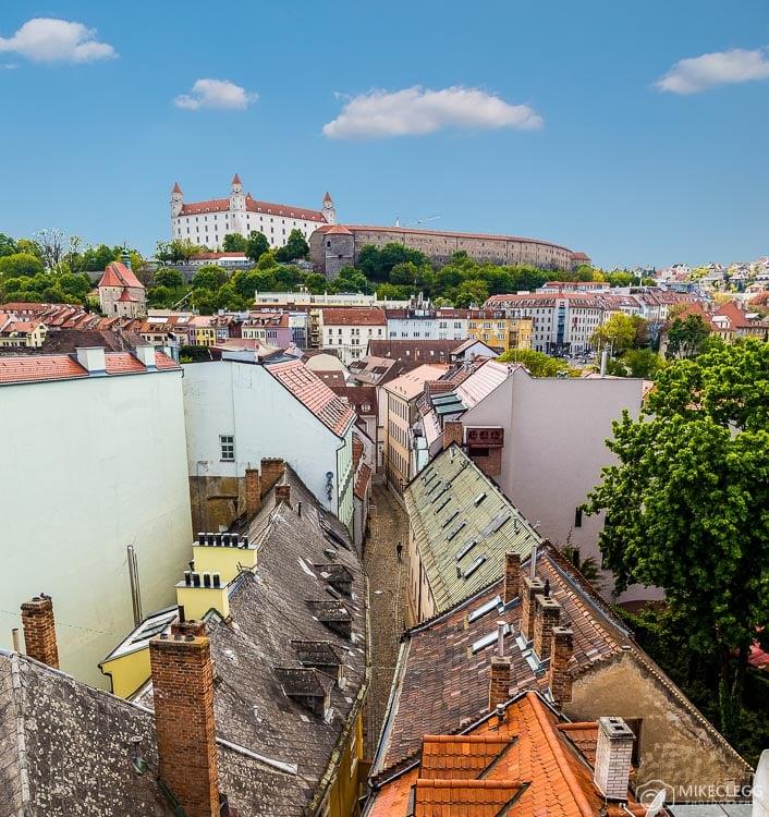 Vista de Michael's Gate, Bratislava