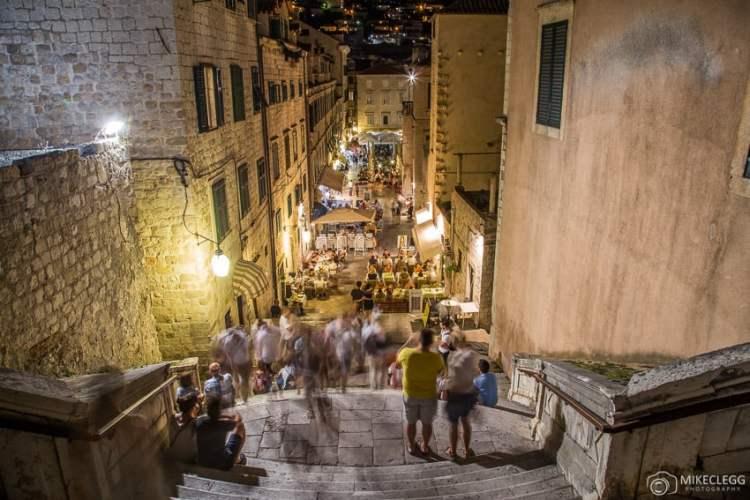 Escadas históricas, Ulica uz Jezuite, Dubrovnik