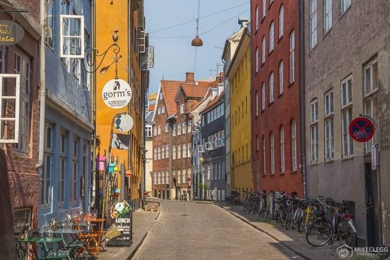 Rua Magstraede em Copenhague