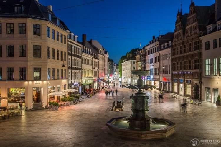 Stroget e Amagertorv, Copenhagen
