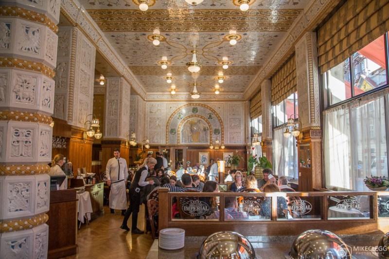 Café Imperial, Praga