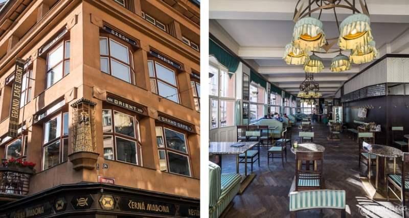 Grand Café Orient, Praga
