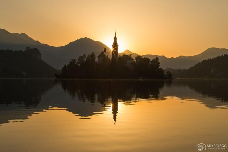 Bled ao nascer do sol