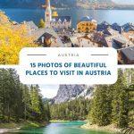 15 fotos de belos lugares para visitar na Áustria