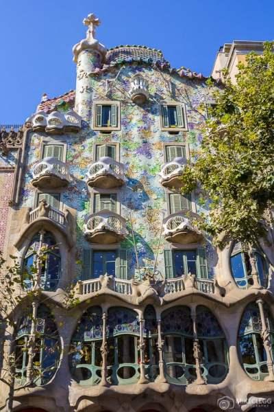 Fachada frontal da Casa Batlló