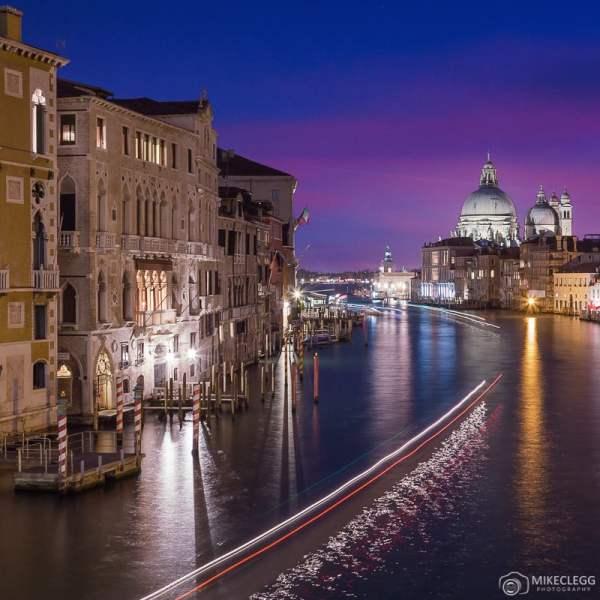 Vista de Pont de l'Academie, Veneza