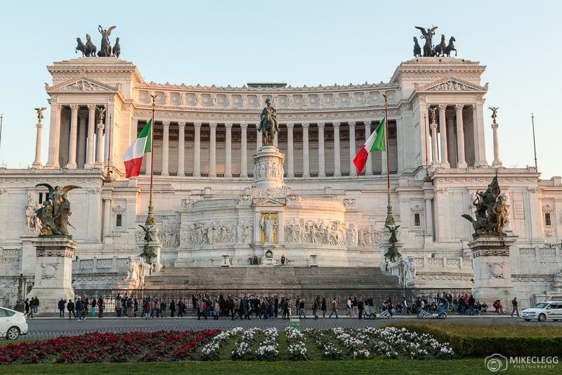 Altar da Pátria durante o dia - Roma