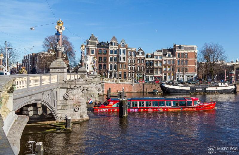 Passeios turísticos de barco em Amsterdã