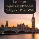 Horizonte e atrações de Londres - caminhada fotográfica autoguiada