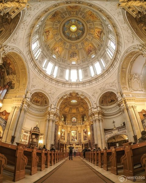 Berliner Dom - Igreja Catedral de Berlim - Interior