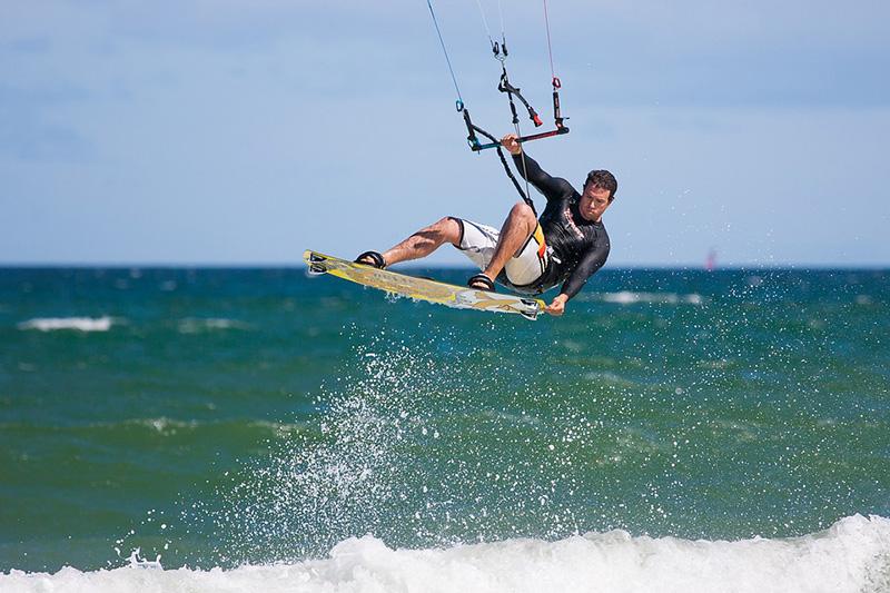 Kite-surf - imagem via Pixabay