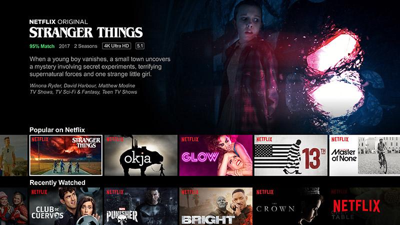Captura de tela do Netflix