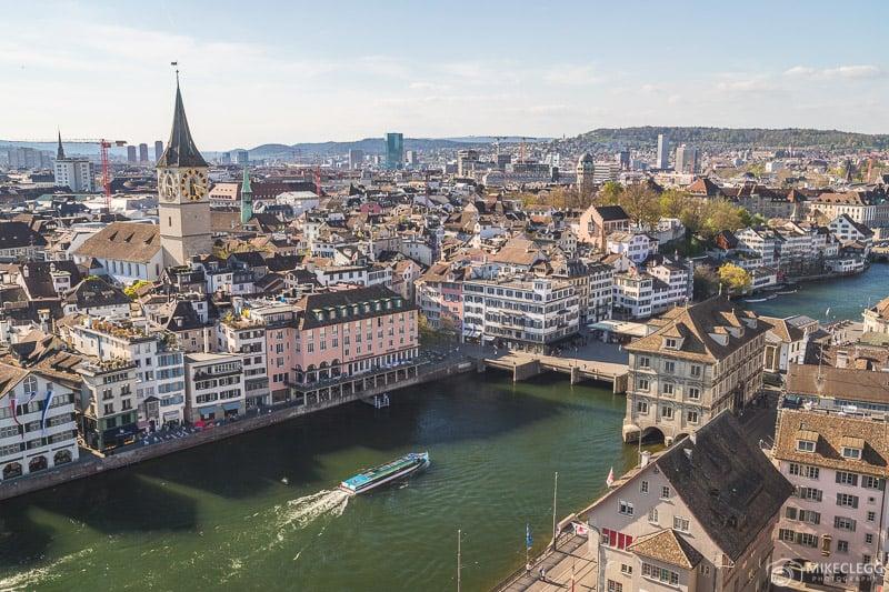 Visualizações de Grossmünster, Zurique