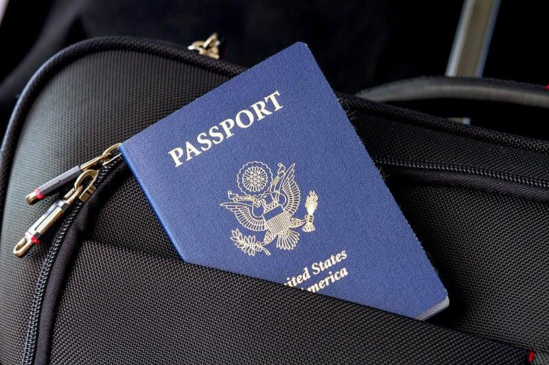Imagem do passaporte - CC0 (Pixabay)