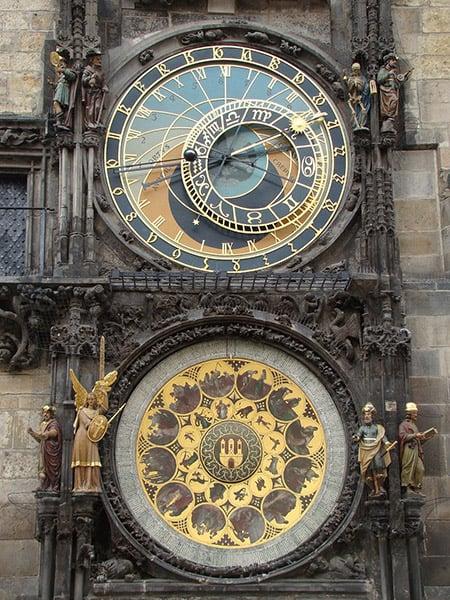 Relógio Astronômico de Praga - Via Pixabay (CC0)