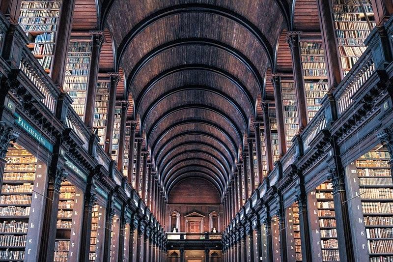 Trinity-College-Dublin, -Irlanda --- CC0