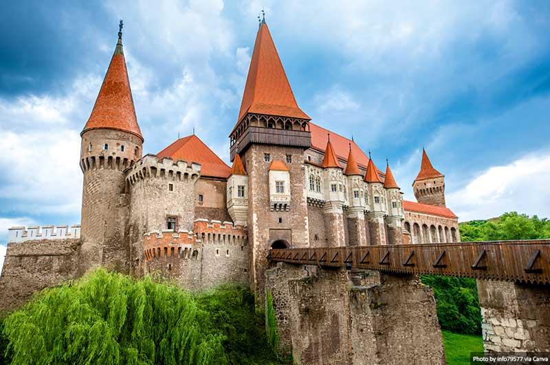 Castelo Corvin na Romênia