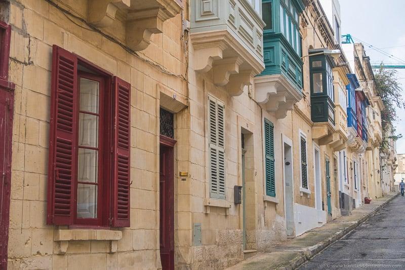 Ruas em Sliema