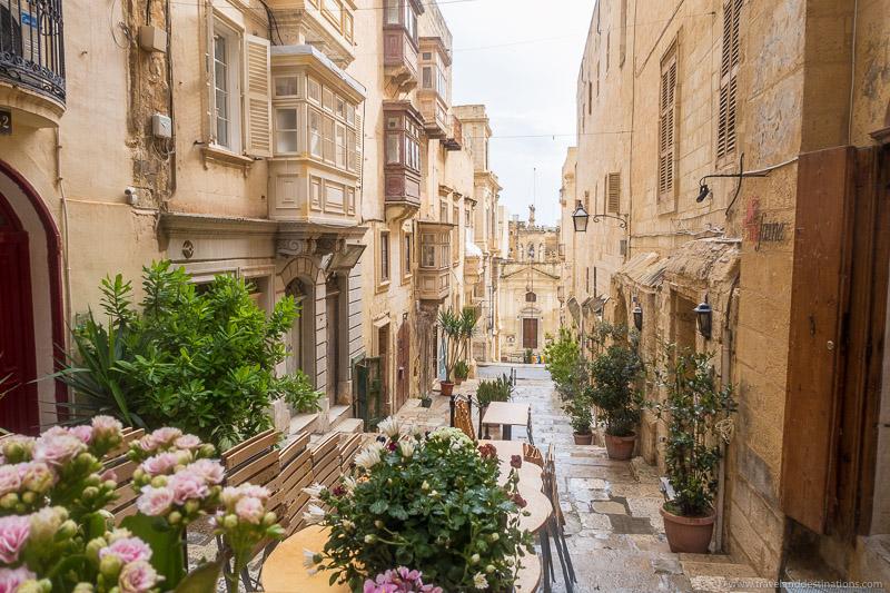 Ruas de Valletta