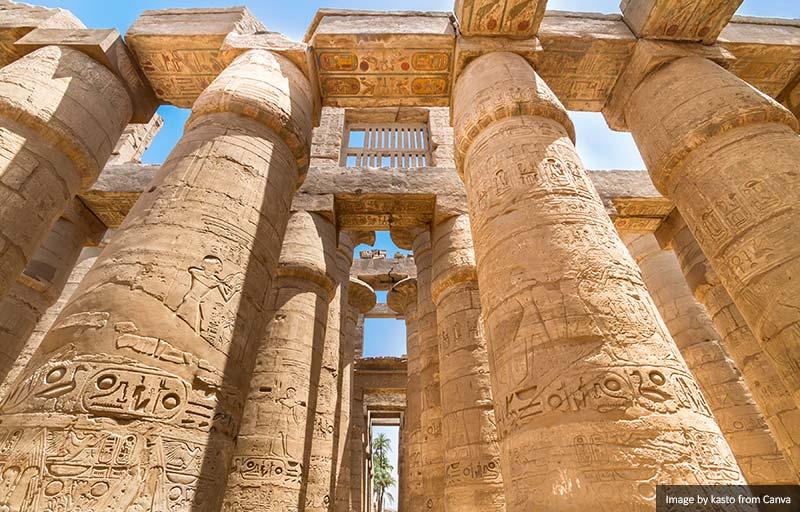 Templos de Karnak, Luxor, Egito