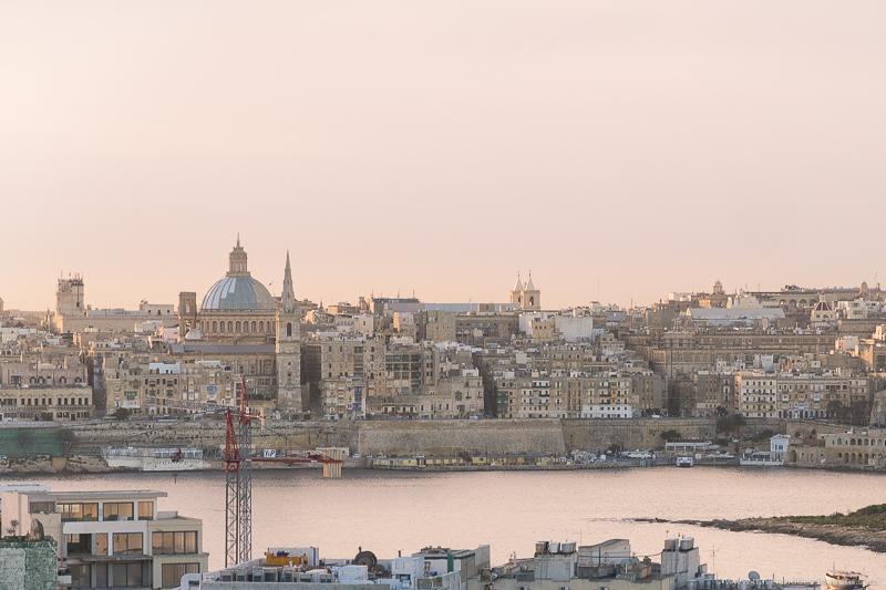 Valletta Skyline de Sliema