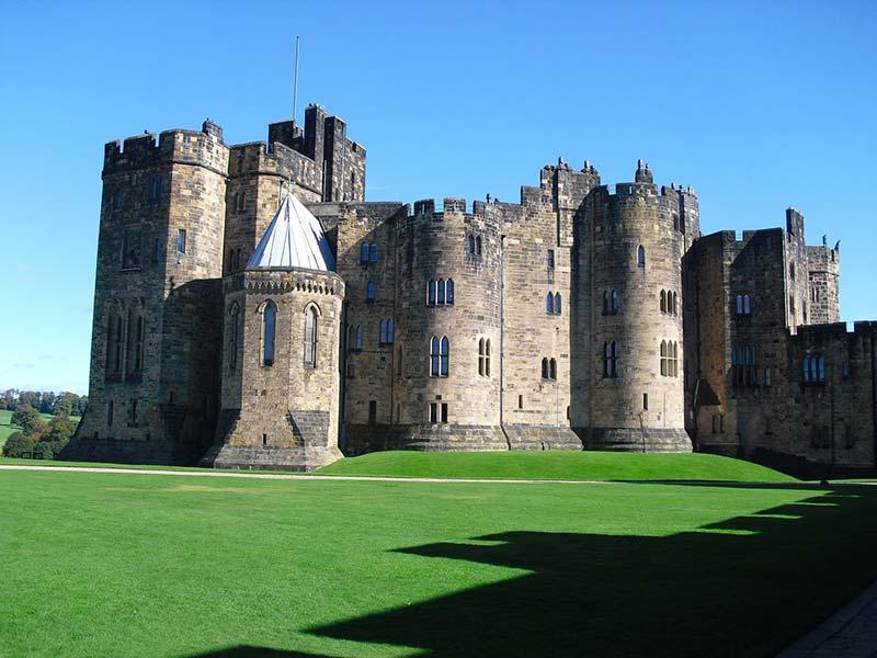 Exterior do Castelo de Alnwick