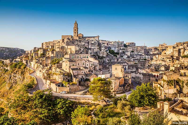Matera Cidade Antiga - Itália