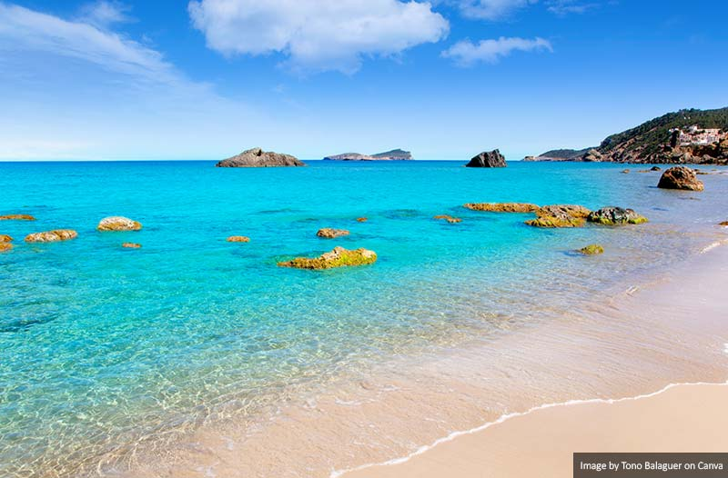 Praia Aiguas Blanques Agua Blanca