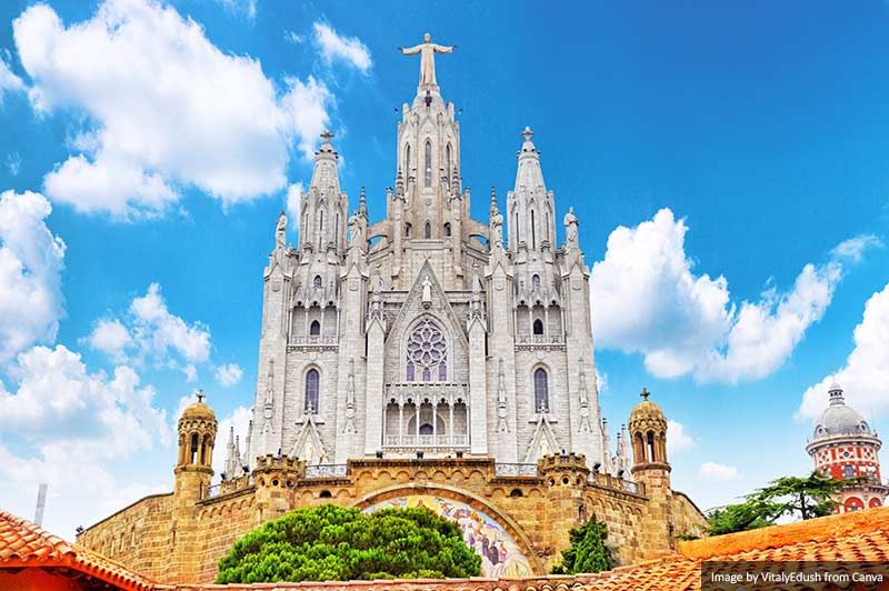 Igreja do Sagrat Cor, Tibidabo