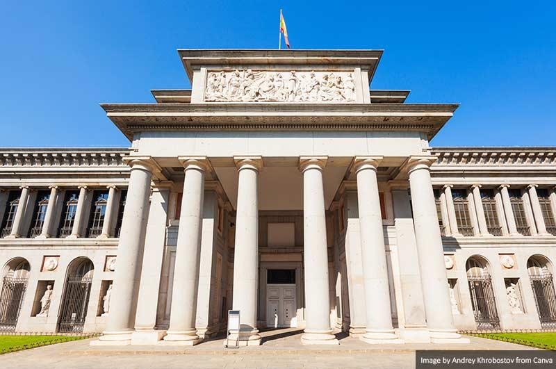 Museu Nacional de Arte do Prado em Madrid