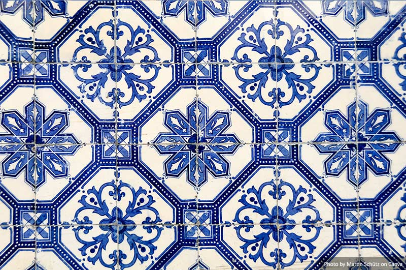 Azulejo português em Lisboa