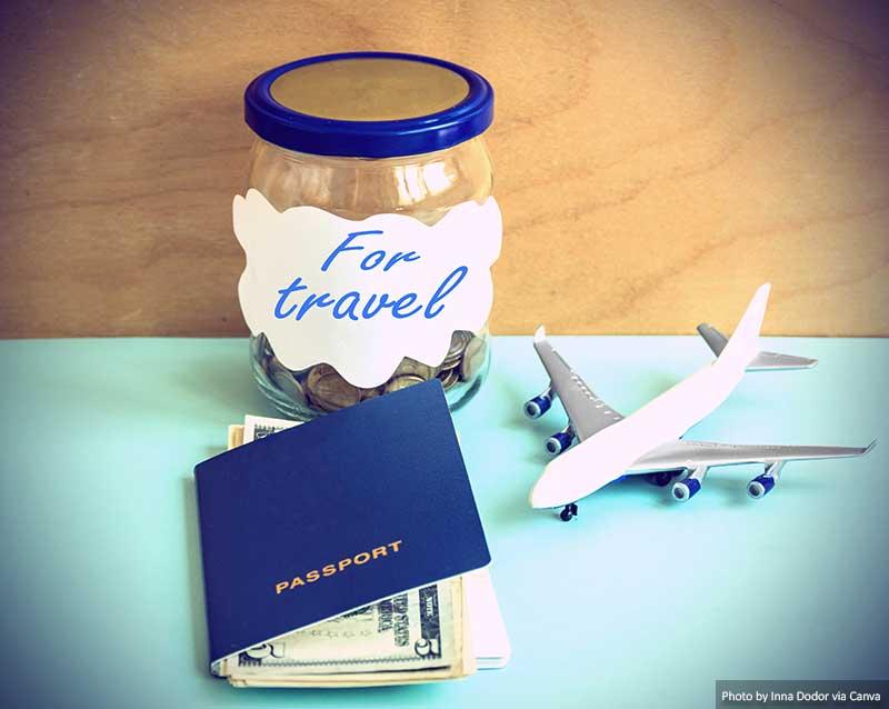 Economizando dinheiro para viajar