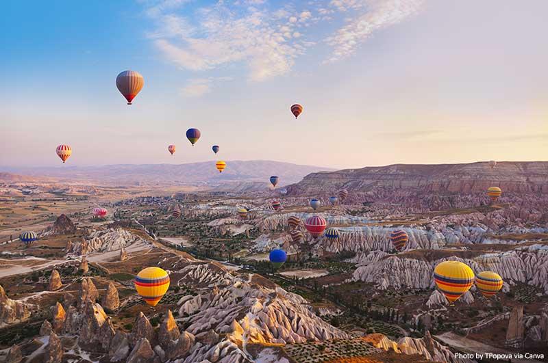 Capadócia Turquia