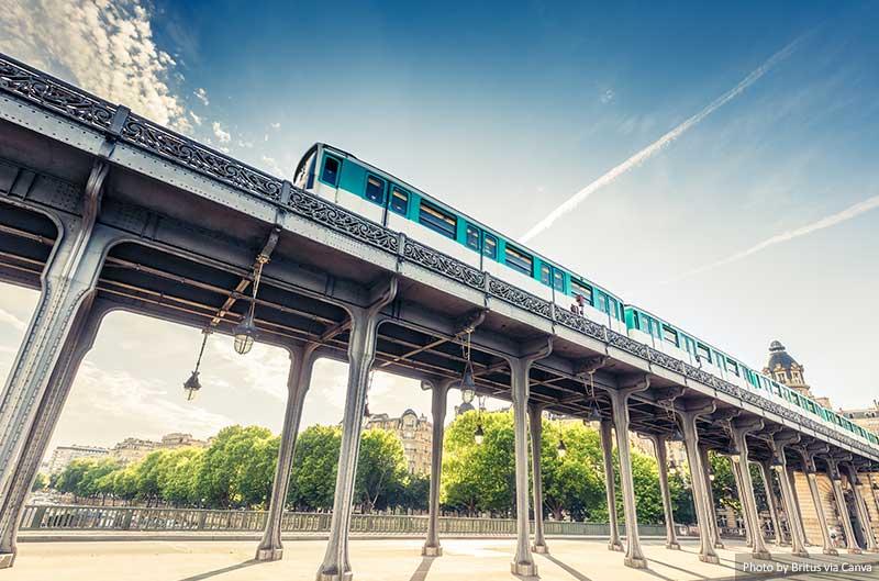 Metro na França
