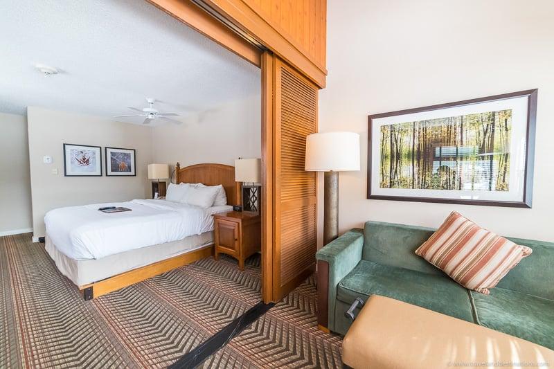 Fairmont Jasper Park Lodge (quarto de hotel)