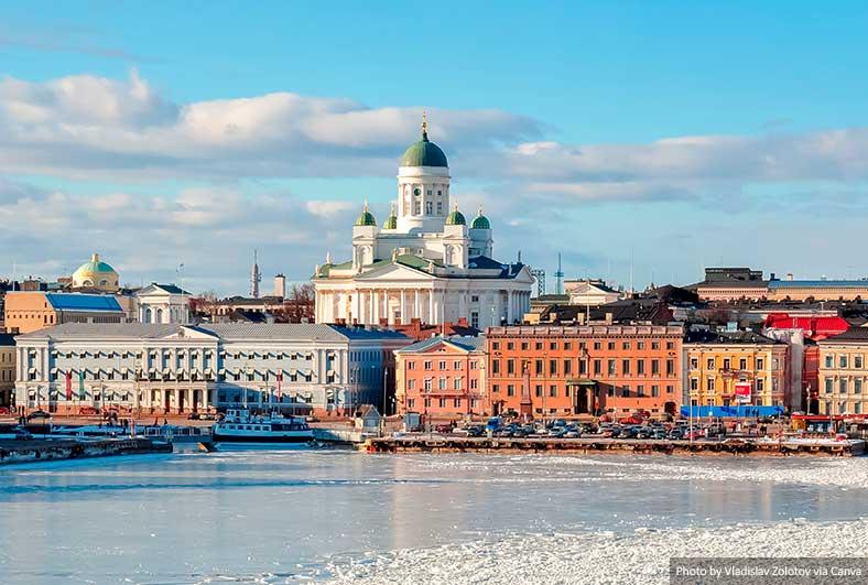 Paisagem urbana de Helsinque