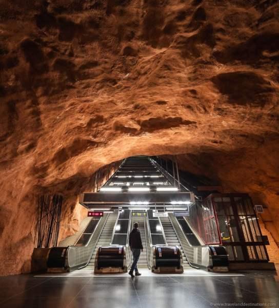 Estação de metrô Radhuset em Estocolmo