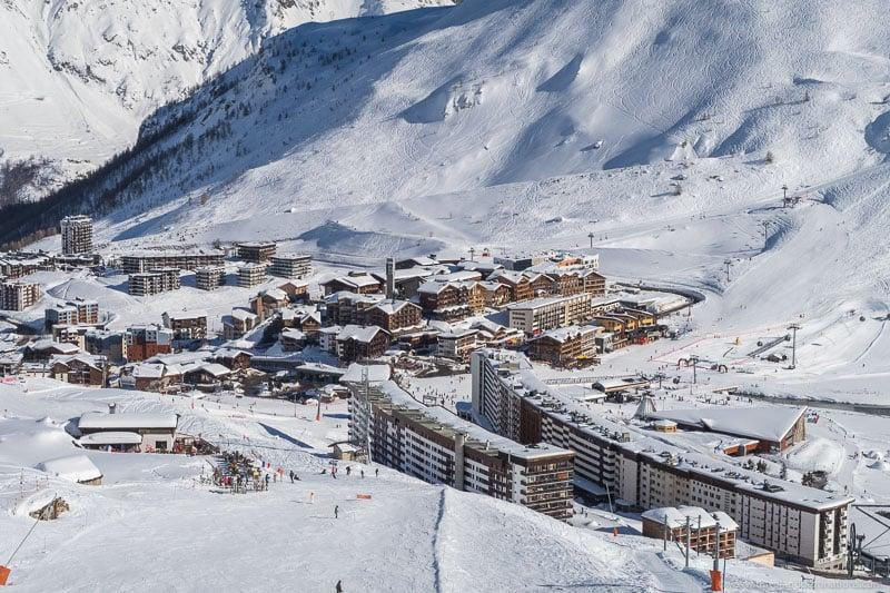 Estâncias de esqui e acomodação