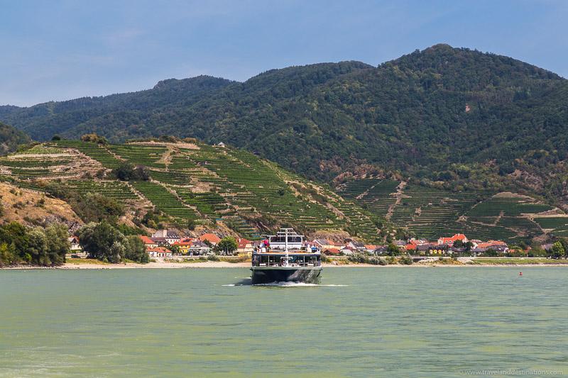 Barcos e Vale Wachau