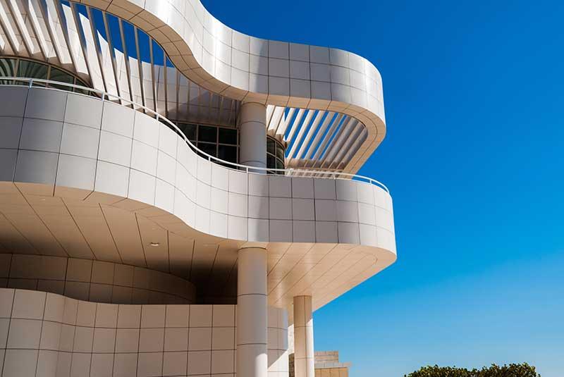 Museu J Paul Getty - exterior