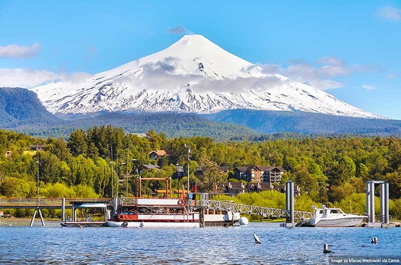 Vulcão Pucon e Villarrica
