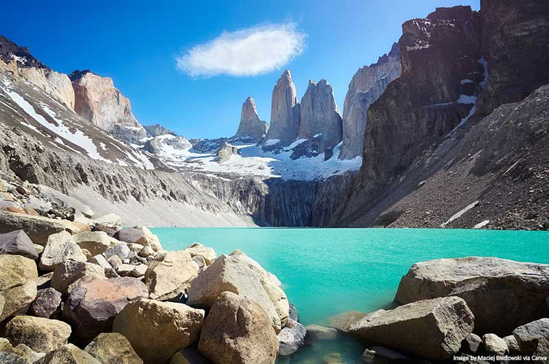 Torres del Paine landscapes