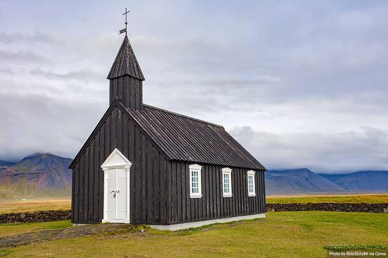 Igreja de Búðakirkja, Islândia