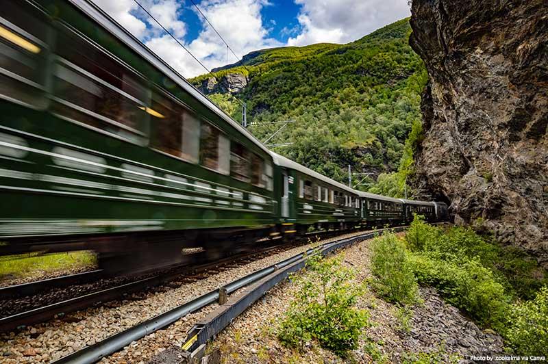 Flam Railway na Noruega