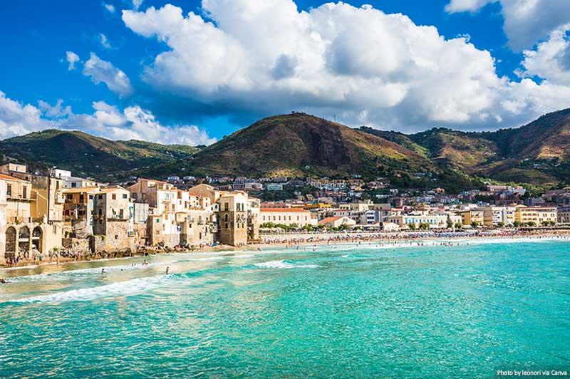 Cefalu, Sicília, Itália