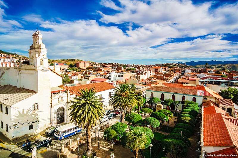 Cidade colonial de Sucre, Bolívia